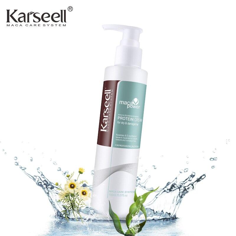 Leave-in Hair Massage Protein Cream Scalp Care Keratin Strai
