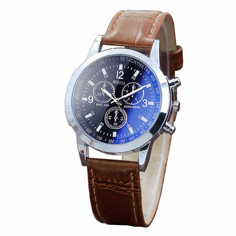 Moda masculina feminina relógios de couro banda relógio de negócios pequeno dial relógio de pulso de quartzo wathes marca de luxo relógio casual
