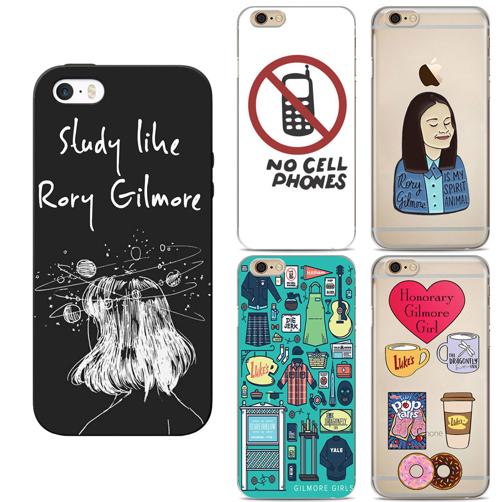 For iphone 7 Case Gilmore Girls Rory Honorary Phone Soft Silicone Case For iphone 5S SE 6 6S Plus 7 8Plus X Cases