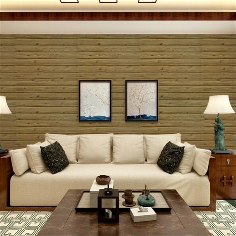 New Self-adhesive Creative Wall Brick Wooden Pattern Wallpaper 3d Wall Stickers Living Room Bedroom 3d Floor Tiles 70*77*1cm