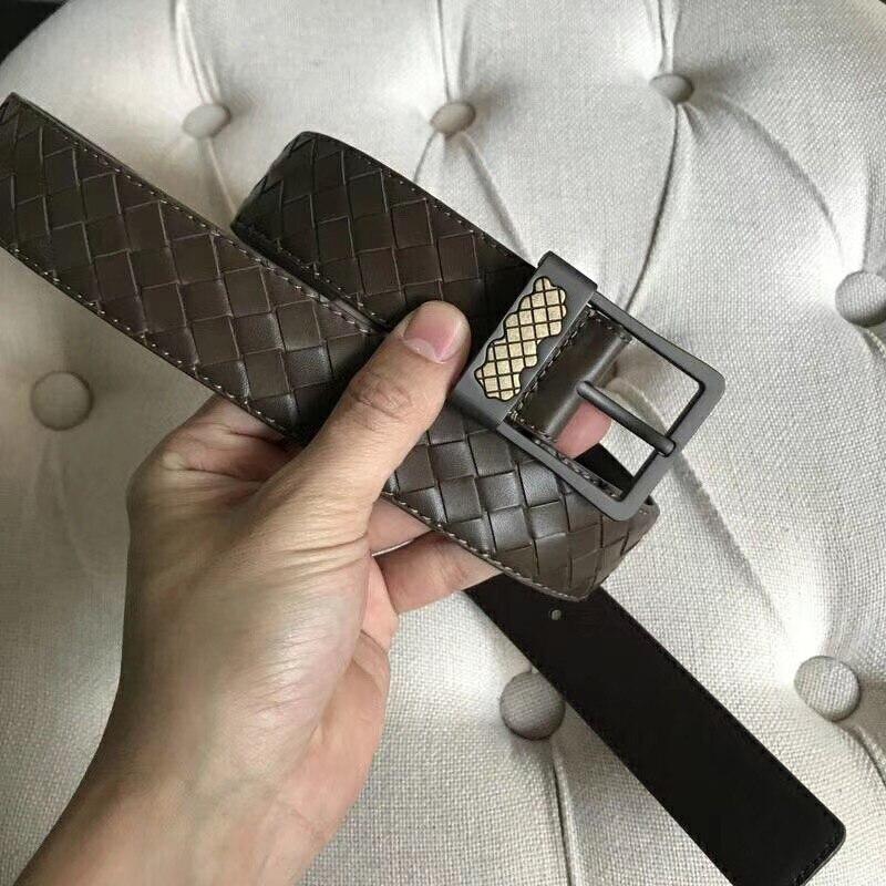 2019 новый узор воловья кожа ремень высокого качества Натуральная кожа ремень игла Пряжка Мужская Регулируемая длина - 5