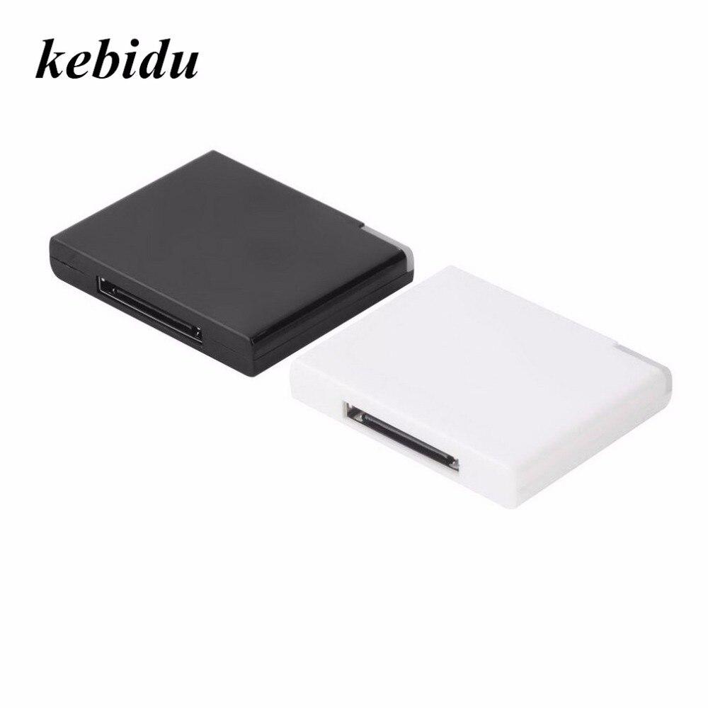 QualitäT In Trendmarkierung Kebidu Bluetooth A2dp Musik Empfänger Adapter Mit 1 Led Für Ipod Für Iphone 30-pin Dock Lautsprecher Drop Verschiffen Ausgezeichnete