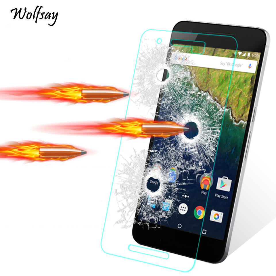 2pcs For Glass LG Nexus 5X Screen Protector Tempered Glass For LG