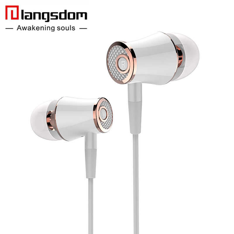 Original Langsdom R21 Stereo Earphones with Microphone Super Bass 3.5mm In-Ear Earphone Headset For iphone xiaomi mobile phones original langsdom sp80a stereo earphones with microphone super bass 3 5mm in ear earphone for iphone xiaomi mobile phone mp3 mp4
