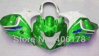 Лидер продаж, горячие GSX650F 08 13 полный комплект обтекателей для Suzuki GSX 650F 2008 2009 2010 2011 2012 2013 Зеленый зализах мотоцикла