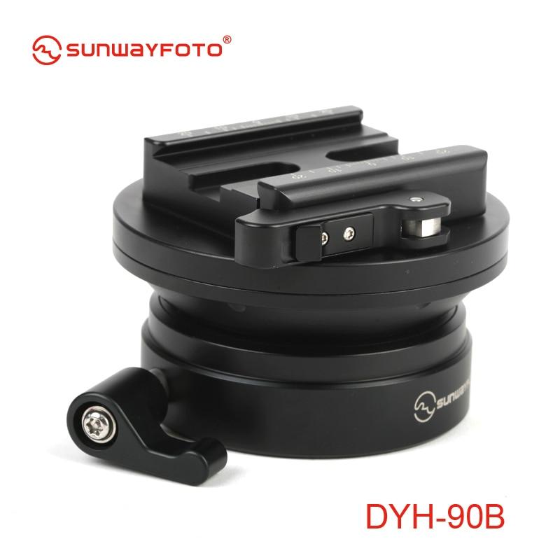 SUNWAYFOTO DYH-90B DSLR fotoaparato lygio trikojis Tripodinis - Fotoaparatas ir nuotrauka - Nuotrauka 2