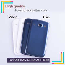 10pcslot  Rear Door For Samsung Galaxy Galaxy Core I8260 I8262 GT-I8262 8260 Housing Back Cover For i8262 i8260 Cases with Logo