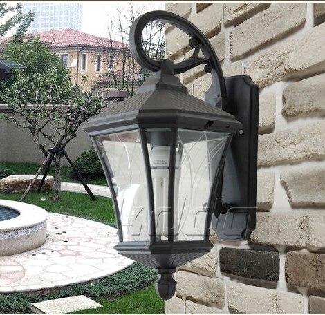 ФОТО European outdoor lights rain wall outdoor garden lights outdoor waterproof wall lights balcony lights Tingyuan Deng