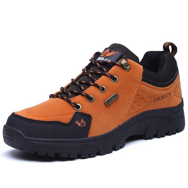 Yeni Geliş Classics Stil Erkek yürüyüş ayakkabıları Dantel Kadar Erkekler Kış Çizmeler Ayakkabı Açık Koşu Yürüyüş Ayakkabı Hızlı Ücretsiz Kargo