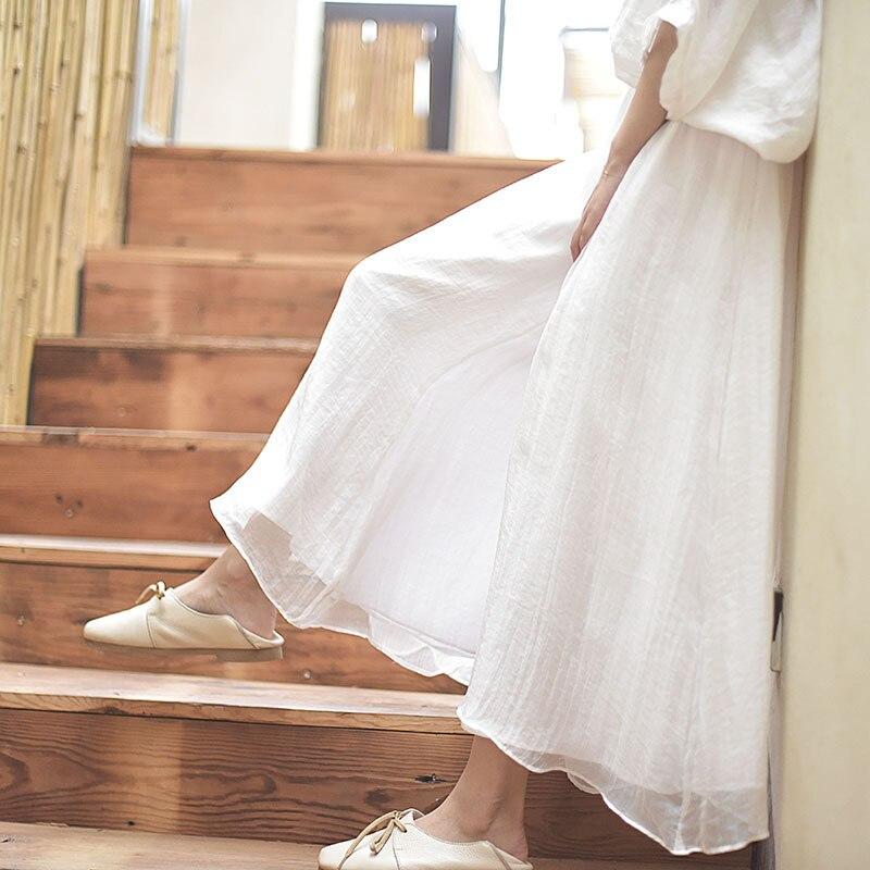 2018 Frauen Sommer Hosen Lose Stil Frauen Breite Bein Hosen Weiß Baumwolle Leinen Übergroßen Frauen Boho Rosa Hosen Weibliche Hose