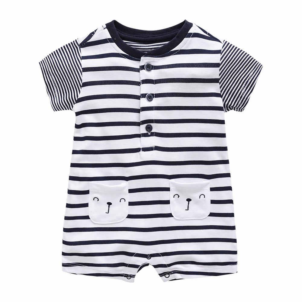 Новинка 2019 года; боди для новорожденных; одежда для маленьких мальчиков; хлопковый комбинезон в полоску высокого качества; цвет черный, белый; пляжный костюм; боди для маленьких мальчиков
