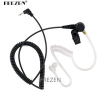 Covert Acoustic Tube Earpiece Headset 3.5mm for connect with Two Way Radio Microphone suit MP3 mobile phone