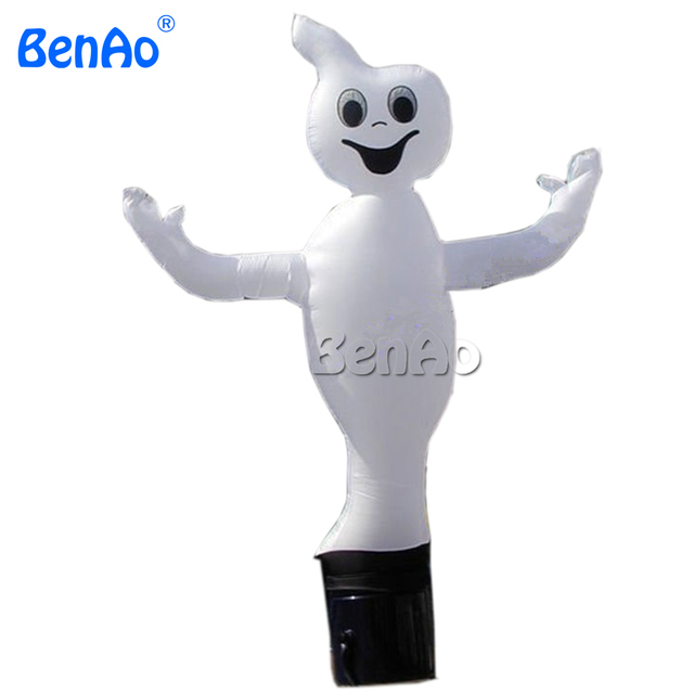 AD028 BENAO Inflatable Ghost Air dancer Halloween sky dancer 10ft-26ft  3m-6m High & Free Strong Rope 100% positive feedback