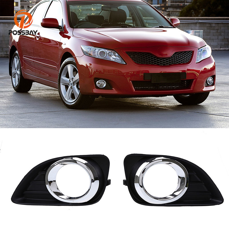 Front Lower Bumper Fog Light Grill Fit for Toyota Camry XV40 2010-2011 Facelift