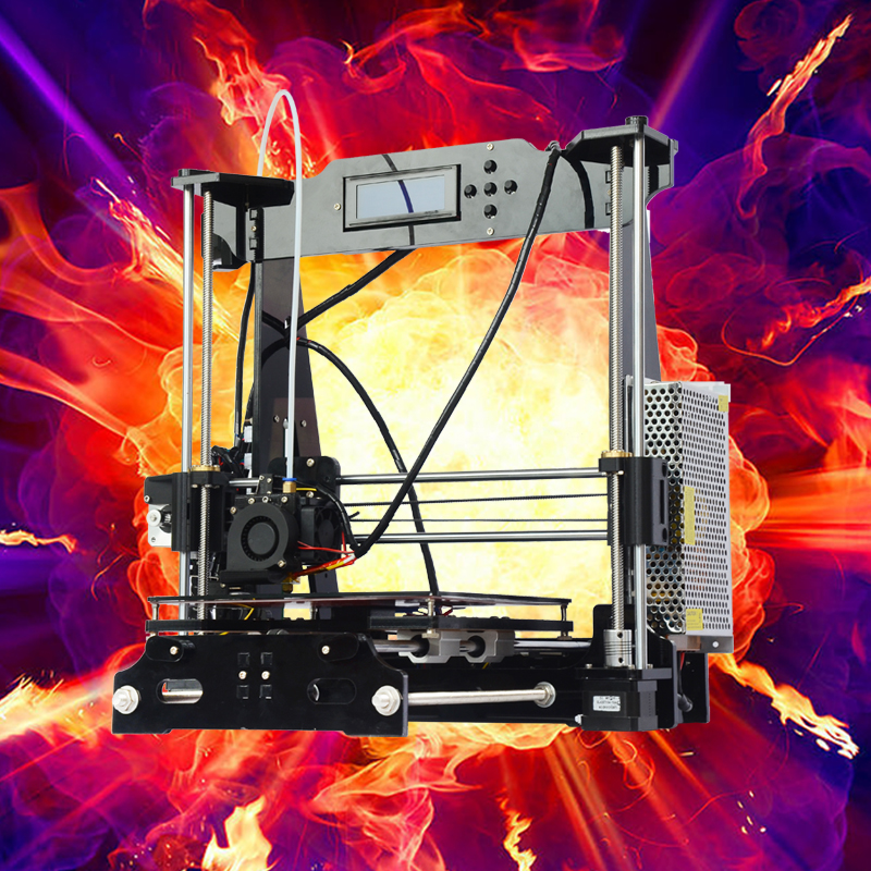 2016 promotion Education Personal FDM prusa I3 3d printer for Children Teaching new upgarded desktop high percision new mootooh personal fdm 3d printer digital desktop printer prusa i3 3d printer for discount