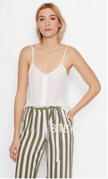 3 Colors EQ 100 Silk Solid Color Women Button Camisole Tank Tops Sleeveless Lady Vest