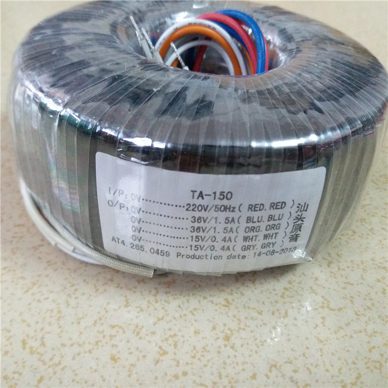 Dual 12V 15V 18V 24V Toroidal transformer copper custom transformer 115 230V 220V 120VA transformer for