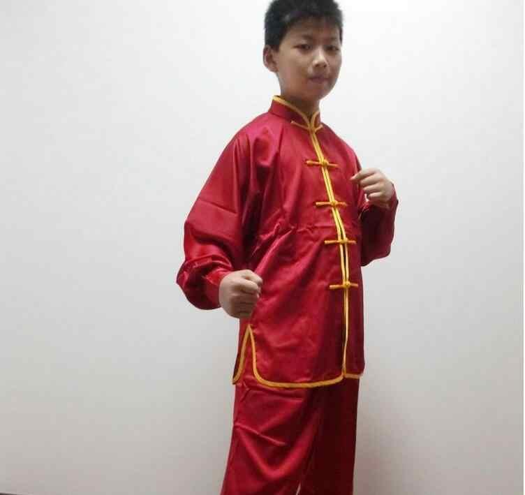 Дети ушу Одежда Китайский Kongfu платье ушу равномерное porfomance одежда Фошань ушу стиль туалетный
