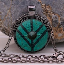 Vikings The Shield of Lagertha Pendant