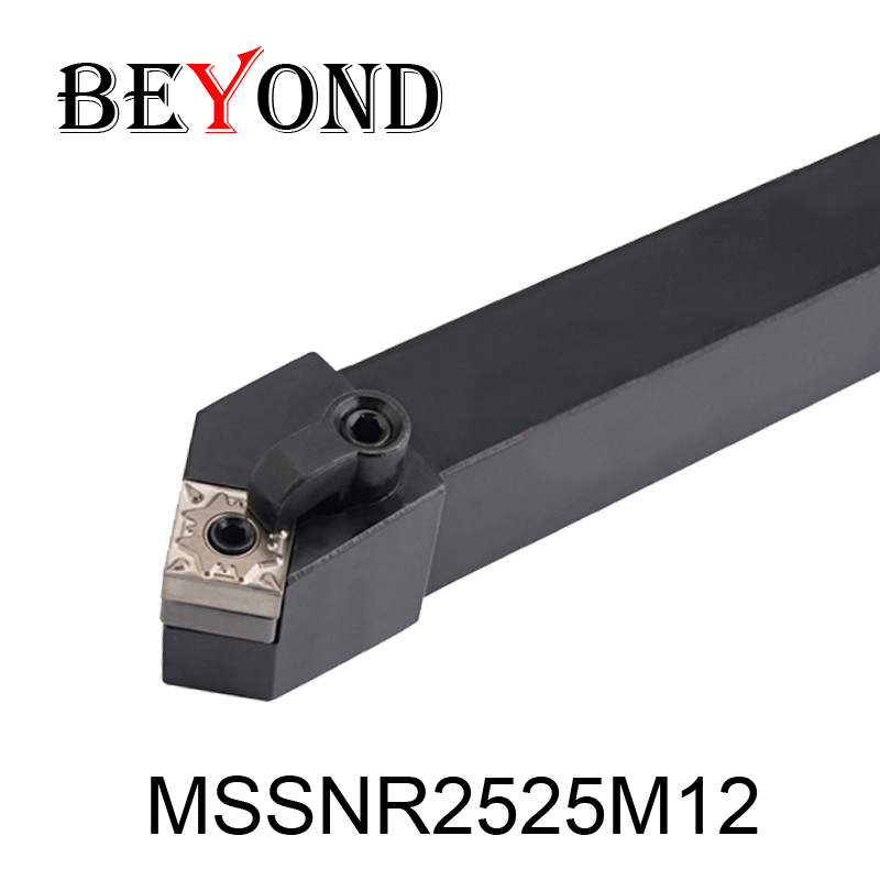 OYYU External Turning Tool Holder 25mm MSSNR Lathe Cnc Boring Bar MSSNR2525M12 MSSNL Tungsten SNMG120408 ZCC Carbide Inserts