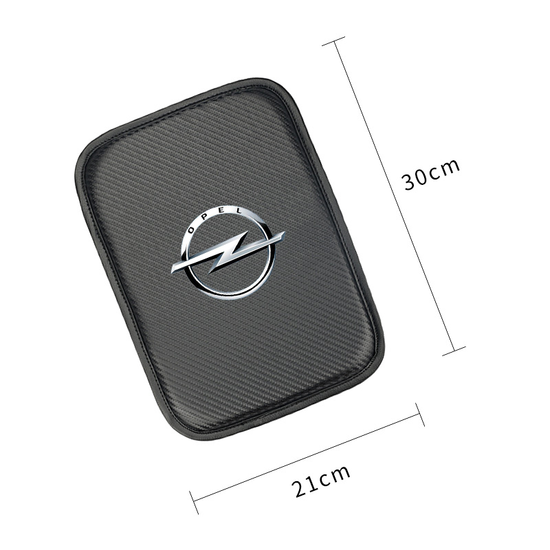 Image 2 - Car Console Box Armrest Pad Protective Mat Cover for OPEL Corsa Insignia Astra Antara Meriva Zafira Auto Accessories-in Car Tax Disc Holders from Automobiles & Motorcycles