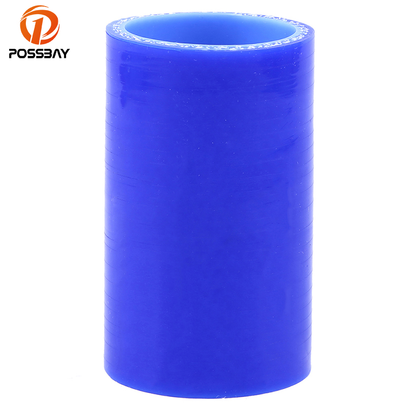 POSSBAY Car Accessories 38/51/57/60/63/70/76/80/83mm 1.5''-3'' Car Air Fillter Intake Pipe Straight Silicone Hose Reducer