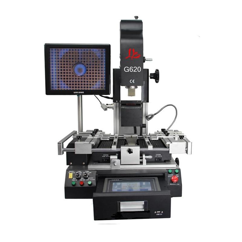 Station de reprise BGA LY G620 conception de tiroir 5300 W station de reprise automatique à alignement optique bga