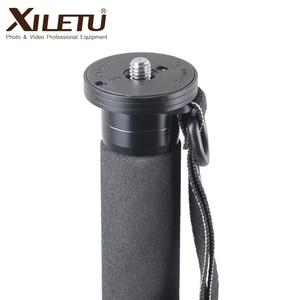 Image 2 - Xiletu ML 325C Carbon Fiber Tripod Monopod  Stable Pole For Canon Nikon Digital Camera With stainless steel Spike