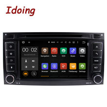 Idoing 2Din Android For VW/Volkswagen Touareg Multimedia Video Player Steering Wheel GPS Navigation Radio FM Touch Screen 1080P