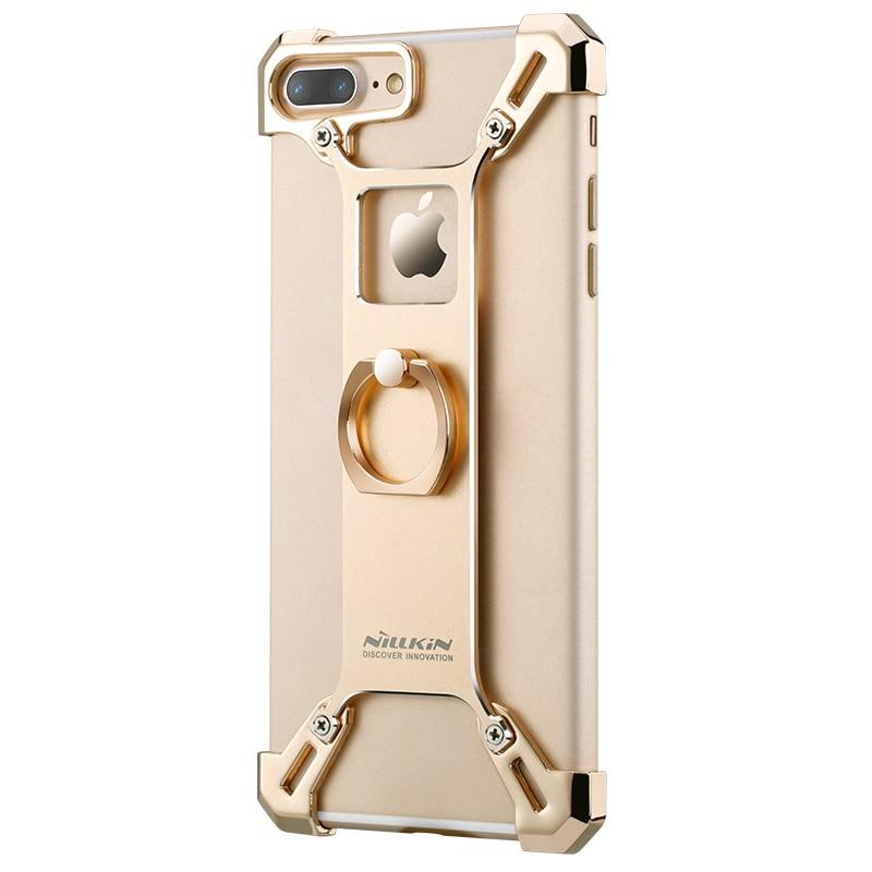 bilder für Nillkin schlanken Telefon Tasche Fall Für iphone 7 handliche telefon stehen tough zurück apple iphone 7 ring form halter fall iphone 7 plus