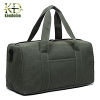 Outdoor Training Sports Fitness Gym Bag Women Waterproof Top Canvas Messenger Bag Military Style Travel Multifunction