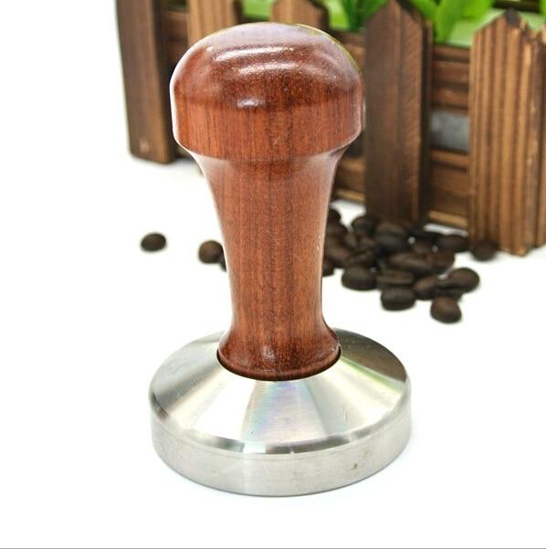 Keuken Eetkamer Bar Koffie Poeder Druk Hamer Huis Coffeeware Rvs Sabotage Tool Met Houten Handvat