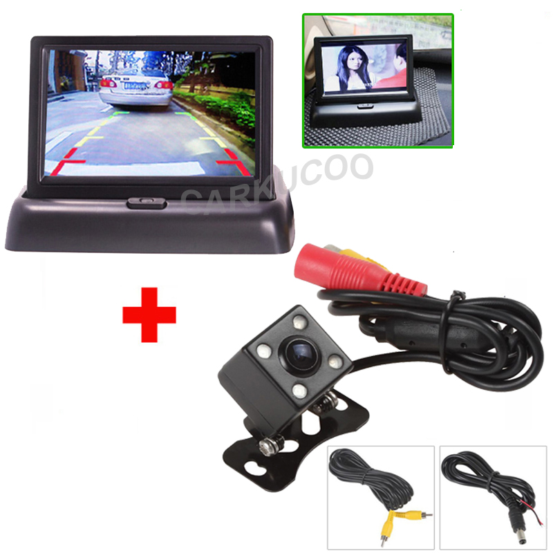 Auto Parking Assist System 2 In 1 Car Rear View Camera