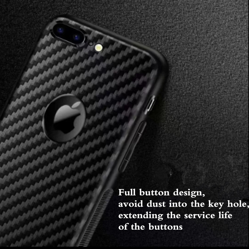 Carbon Fiber Grain Soft TPU Phone Bags For Huawei Honor 20 Pro Y5 2019 Honor 8S P Smart Z Y9 Prime 2019 Back Case in Fitted Cases from Cellphones Telecommunications