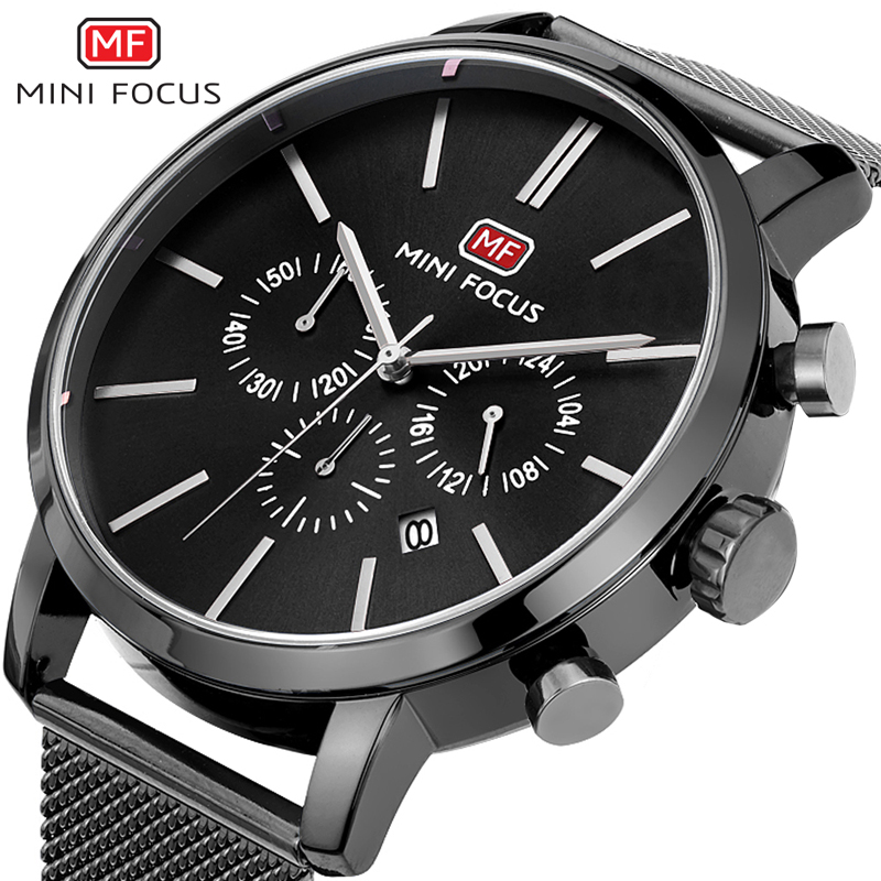 top brand luxury chronograph men sports watches stainless st