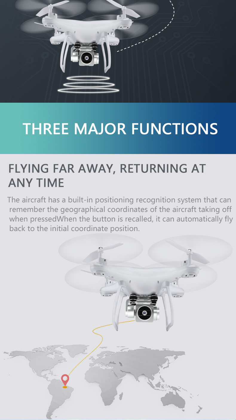 qiqile S8 Drone with WiFi FPV HD Camera 720P RC Helicopter Headless Mode  Quadcopter Remote Control Toys VS XS809HW H37