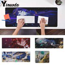 Yinuoda Non Slip PC Houseki No Kuni Anime Manga Rubber Mouse Durable Desktop Mousepad Pattern Soft Accessories gaming mouse pad