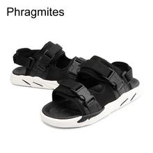 Phragmites Fashion Camouflage Men Sandals Summer Students Sandals Beach Roman Men Shoes Summer Flat Sandals Large Size #46