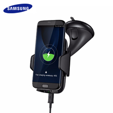 Samsung Wireless Charger Car Phone Holder for S8 S7 S6 Note 8 with Air Vent Mount Car Holder Qi Wireless Fast Charger 10.8W 2A