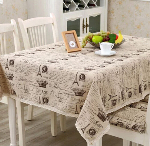 High Grade Tropical Table Cover Tablecloth Linen Cotton Table Cover For  Table Cotton And Linen Thicken Table Cloth In Tablecloths From Home U0026  Garden On ...