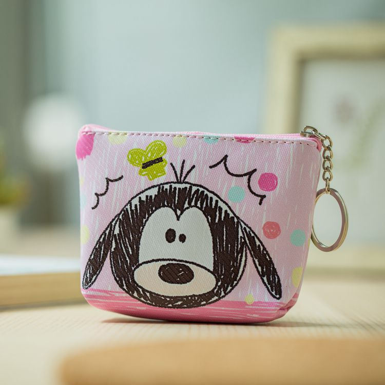 HTB1Hyh4NhTpK1RjSZFMq6zG VXa0 Disney children cartoon purse Coin Mickey Mouse coin bag girl boy gift handbag storage key pendant bag kid packet wallet Frozen