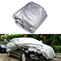 Full Car Cover Indoor Outdoor Sunscreen Heat Protection Dustproof Anti UV Scratch Resistant Sedan Universal Suit