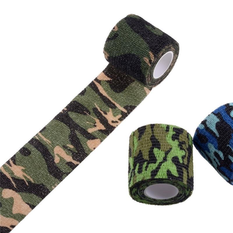 ALI shop ...  ... 32860287004 ... 5 ... Camouflage Tapes Tactical Flashlight Knife Bandage 5CM * 450CM Self-adhesive Non-woven Natural Latex Camo Stretch Bandage ...