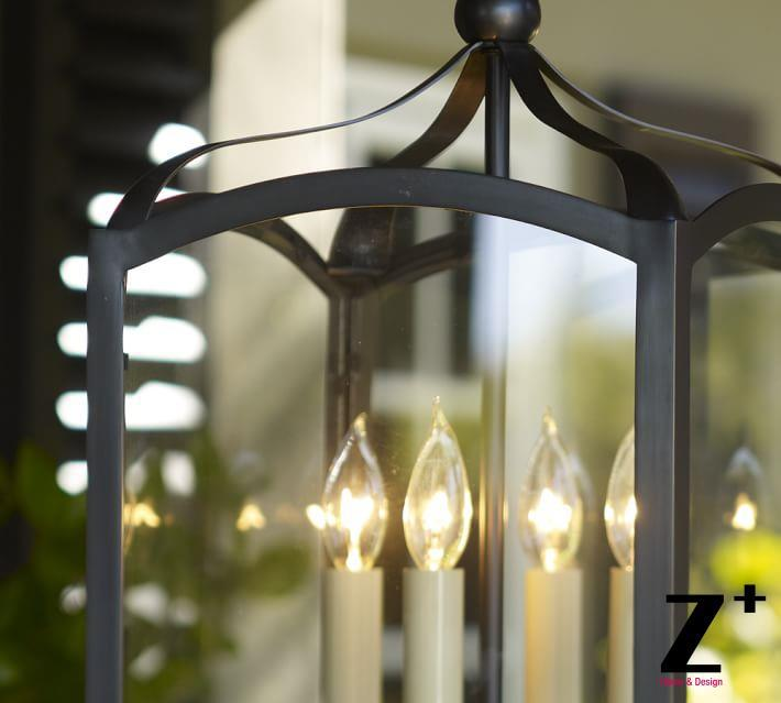 Replica item led pendant light iron gothic indoor outdoor lantern country style iron 4 lights lamp vintage retro lamp in pendant lights from lights