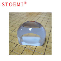 STOEMI 6921 Cuttered Dome Magnifier Diameter 80mm Biplane Paperweight Vision Aids Magnifier For Reading Arts Crafts