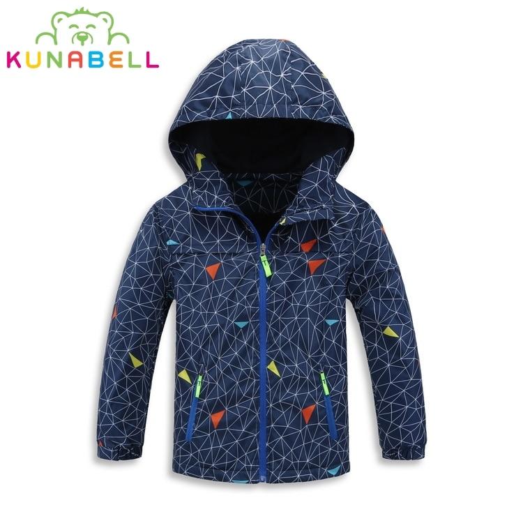 2017 Children Jackets Polar Fleece Autumn Children Outerwear Coat Sporty Kids Clothes Waterproof Windbreaker Boys Tops For 3-12T