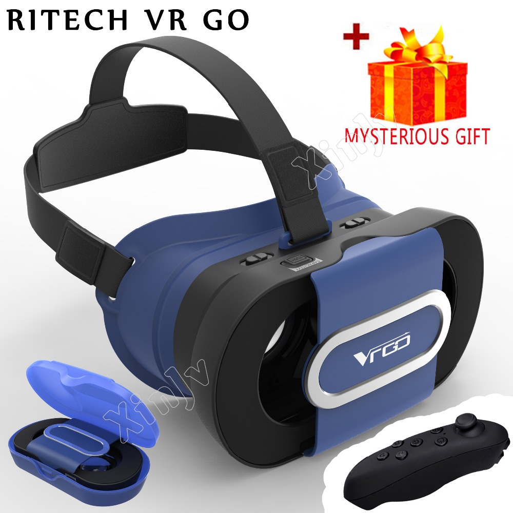 ritech vr go casque anaglyph 3 d vr box 3d virtual reality. Black Bedroom Furniture Sets. Home Design Ideas