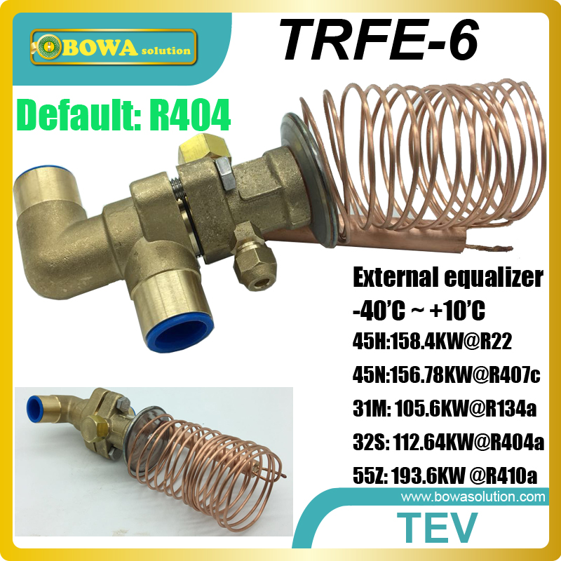 45TR thermostatic expansion valves suitable for large capacity dry chamber or air source heat pump water heater large cooling capacity indepedent electronic expansion valves eev unit suitable for tandem compressor unit or compressor rack