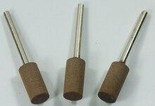 100pics 22*3MM Glass Metal Jewelry Polishing Tool Cylindrical Grinding Head Polishing Burr