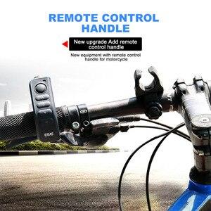 Image 3 - Ejeas e6 plus comunicador para motocicleta, 1200m, comunicador, bluetooth, interfone, fone de ouvido vox, controle remoto para 6 pilotos